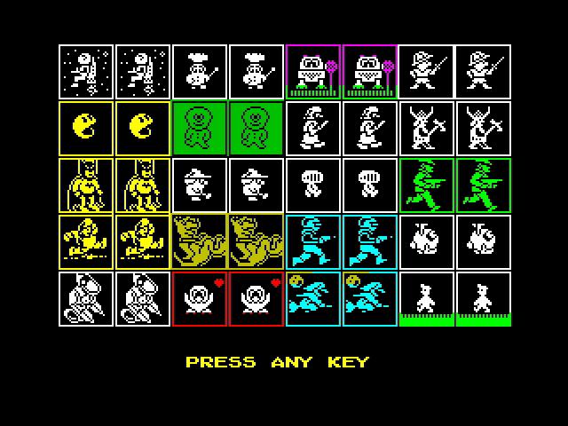 The Spectrum Heroes card set